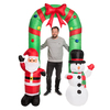 Oppblåsbar julebue – 2 m