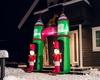 Oppblåsbar juleportal – 3,6 m