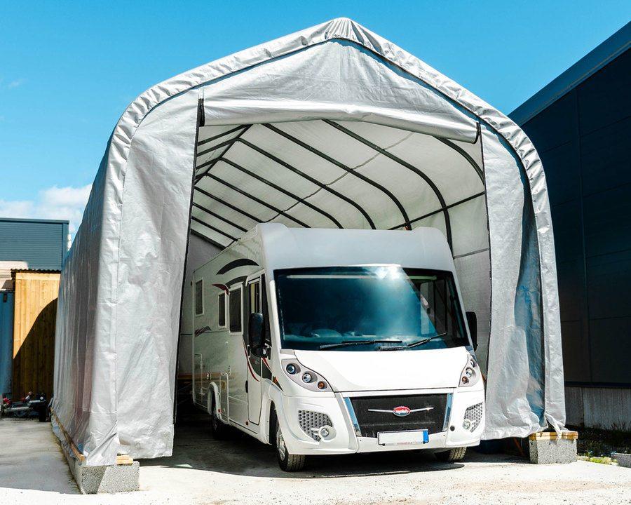 Garasjetelt – 59 m²