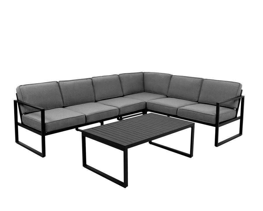 Sofagruppe modell Camilla – sort