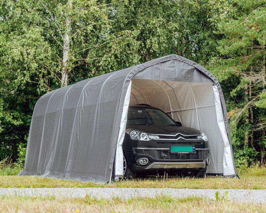 Portabel garasje – 13,5 m²