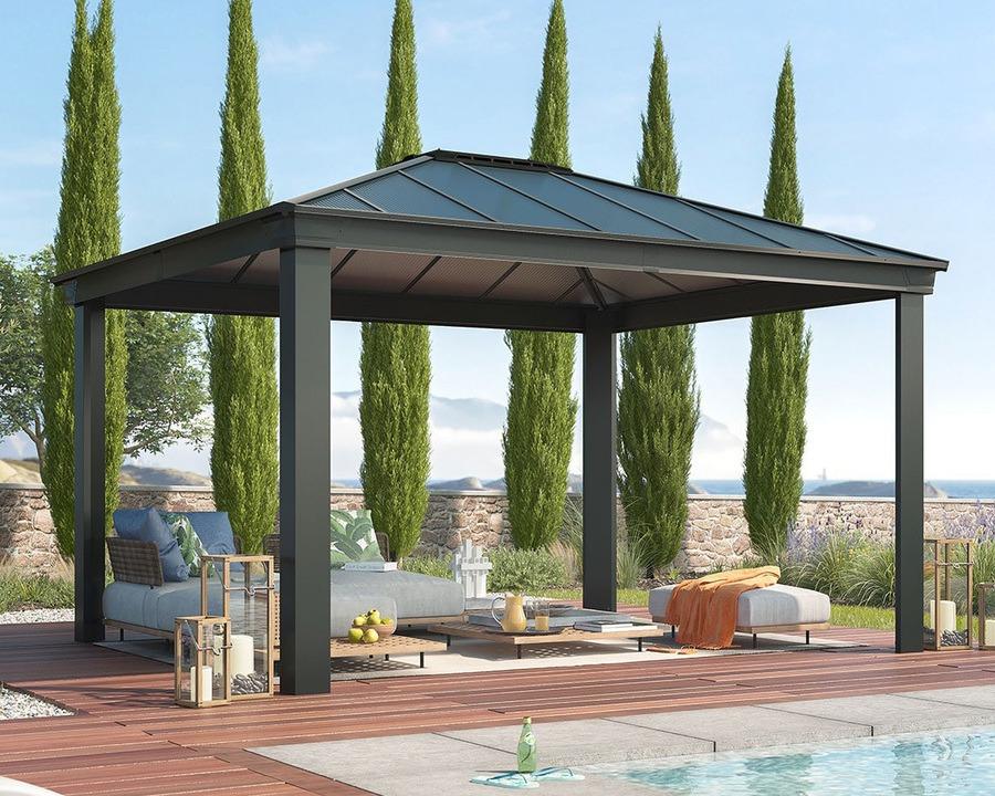 Palram-Canopia Helårspaviljong Dallas 4300 – 15,5 m²