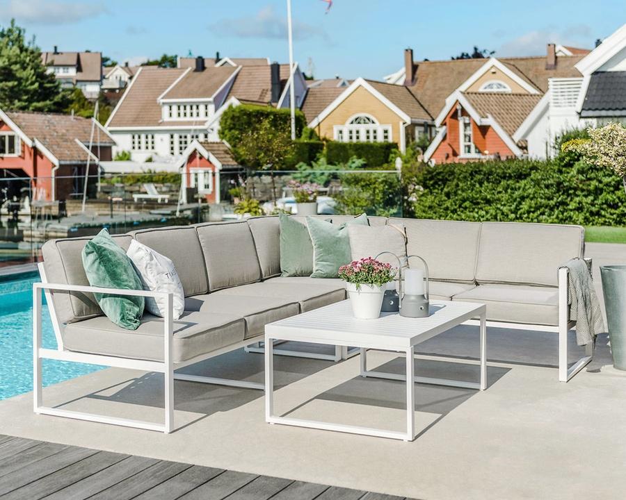 Sofagruppe modell Camilla – hvit