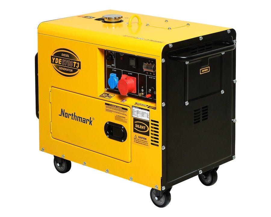 Aggregat på diesel– 5000 W