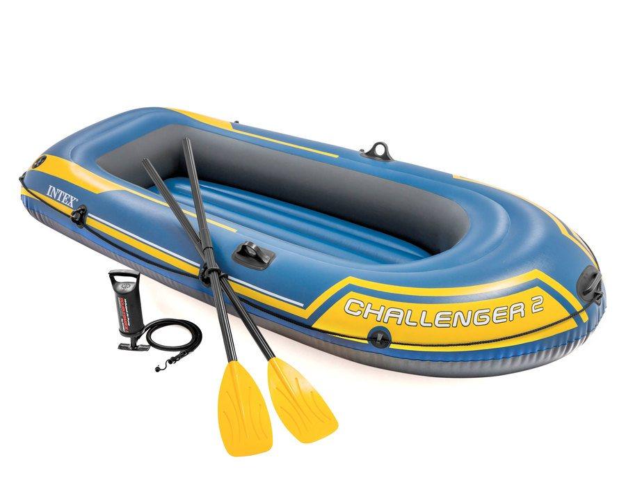 Oppblåsbar gummibåt fra Intex