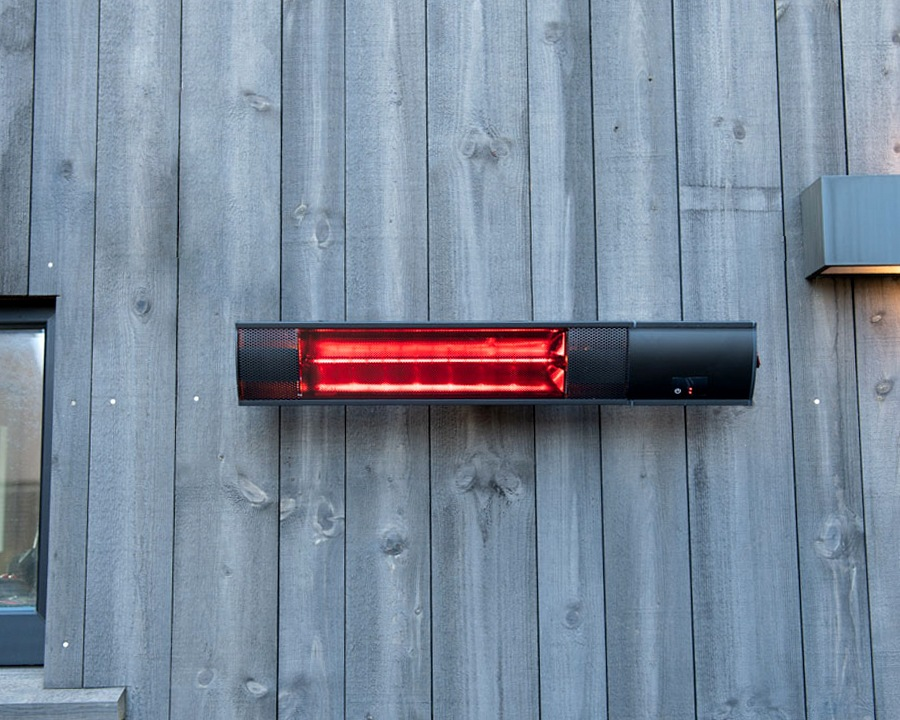 Terrassevarmer til vegg – 1500 W