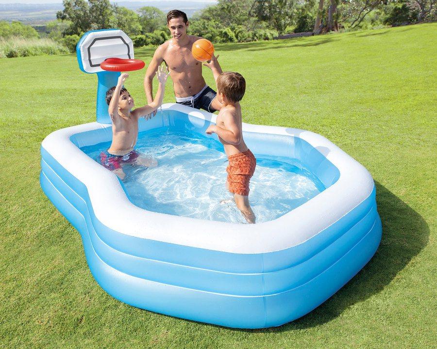 Barnebasseng med ball og kurv – 682 L