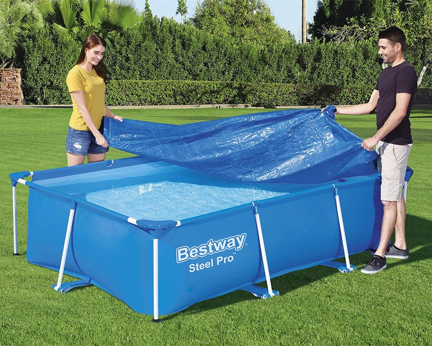 Trekk til Steel Pro™-basseng – 2,59 x 1,70 x 0,61 m