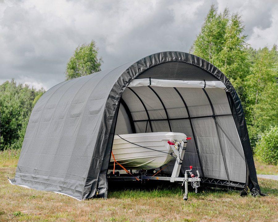 Portabel garasje – 22,5 m²