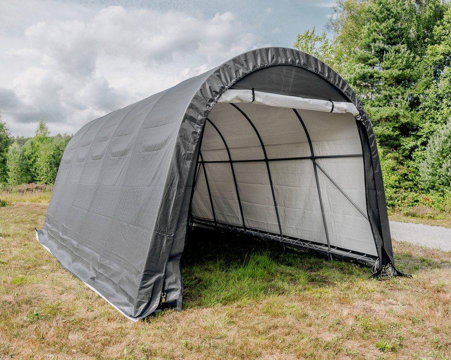 Portabel garasje – 22,5 m² | Alt til hage og utemiljø