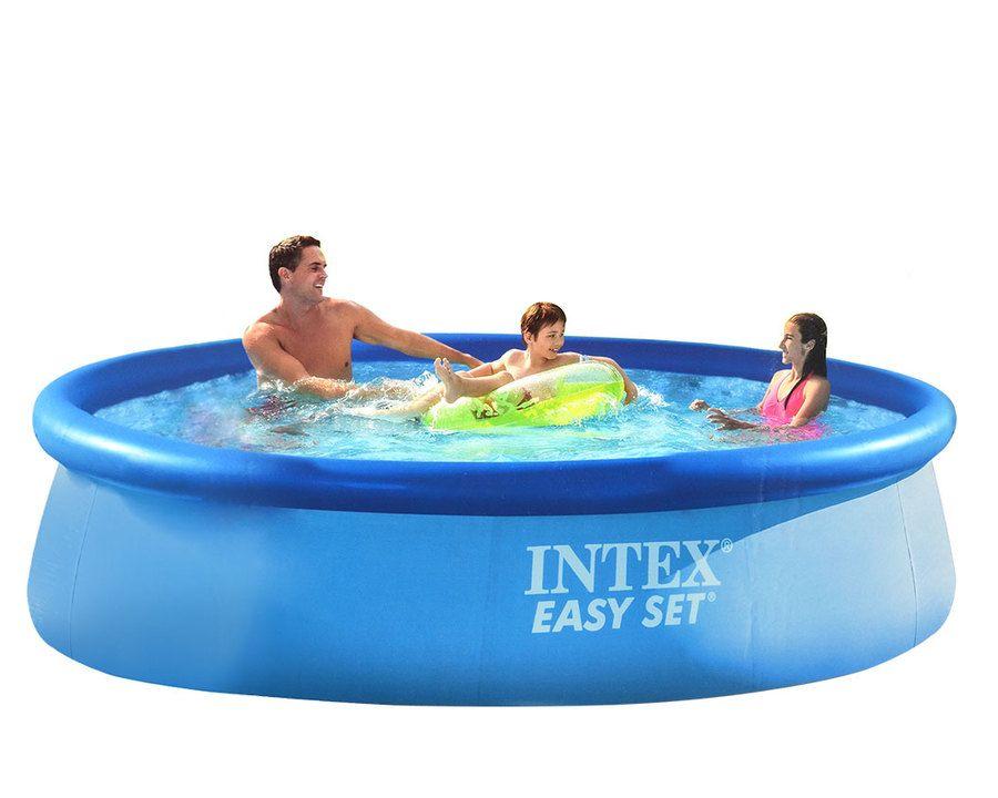 Intex badebasseng med pumpe og filter – 5621 L
