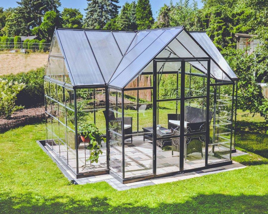 Drivhus Palram Victory Orangery – 11 m² / Forventet tilbake uke 27
