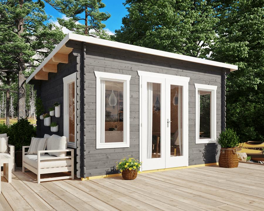 Hytte – 11,4 m²