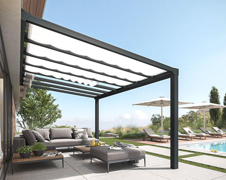 Persienne til terrassetak Stockholm 12,5 m²