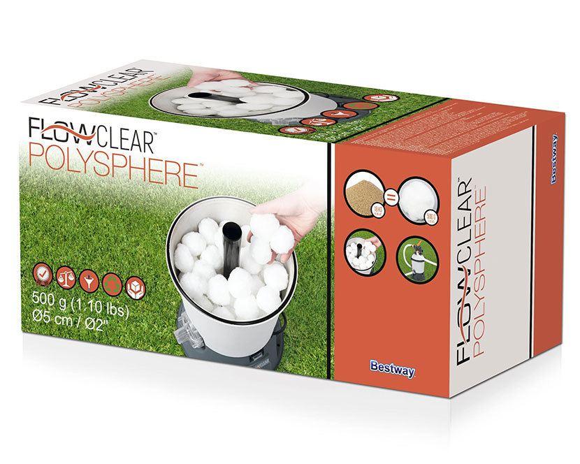 Bestway Flowclear Polysphere - filterkuler