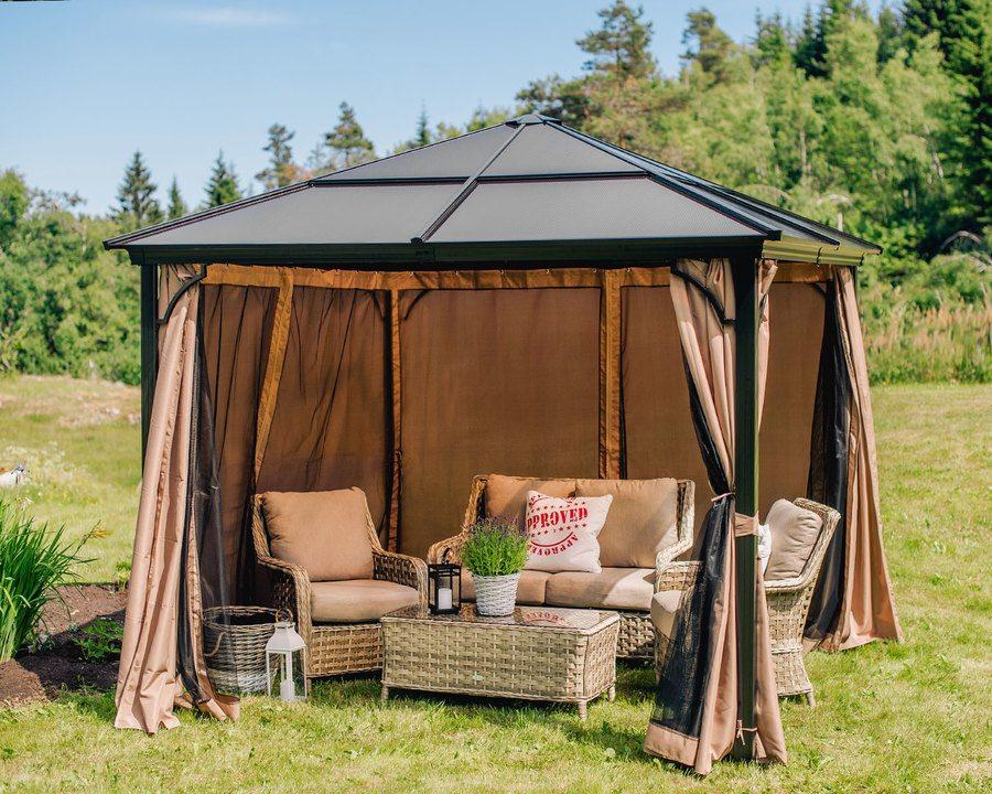 Helårspaviljong – 3 x 3 m   Alt til hage og utemiljø