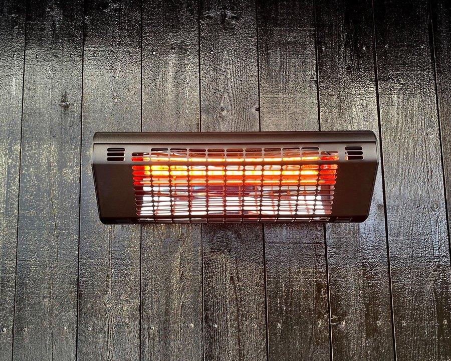 Terrassevarmer til vegg – 2000 W